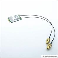 Mini PCIe 4G LTE Module CAT4, w 2x Antenna