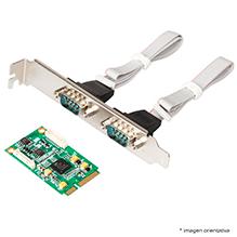 Mini-PCIE card_w 1x RS232 RS422 RS485
